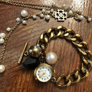 Limited Toggle Watch & Necklace